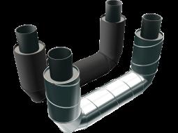 П-образные элементы стальные в полиэтиленовой или оцинкованной трубе–оболочке