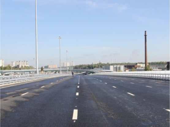 Развязка Новорязанского шоссе