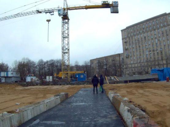 Метрополитен, ст. Парк Победы (3 этап)