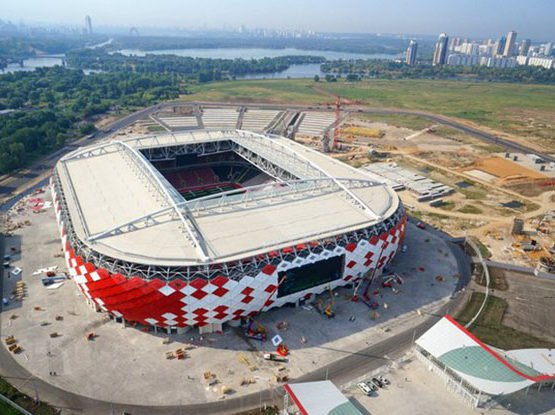 «Открытие Арена» — стадион «Спартак»