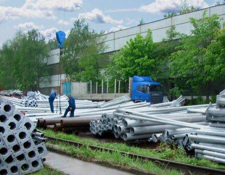 Производство опор уличного освещения Москва