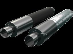 Концевые элементы ППУ стальные в полиэтиленовой или оцинкованной трубе-оболочке