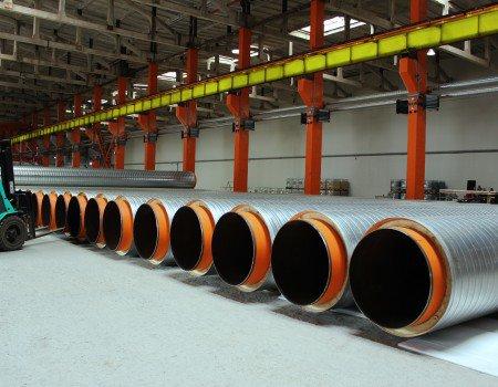 СМИТ-Ярцево - завод по производству ППУ труб в России