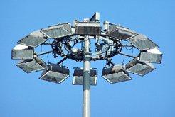 Высокомачтовые опоры с мобильной или стационарной короной ОГКВМ