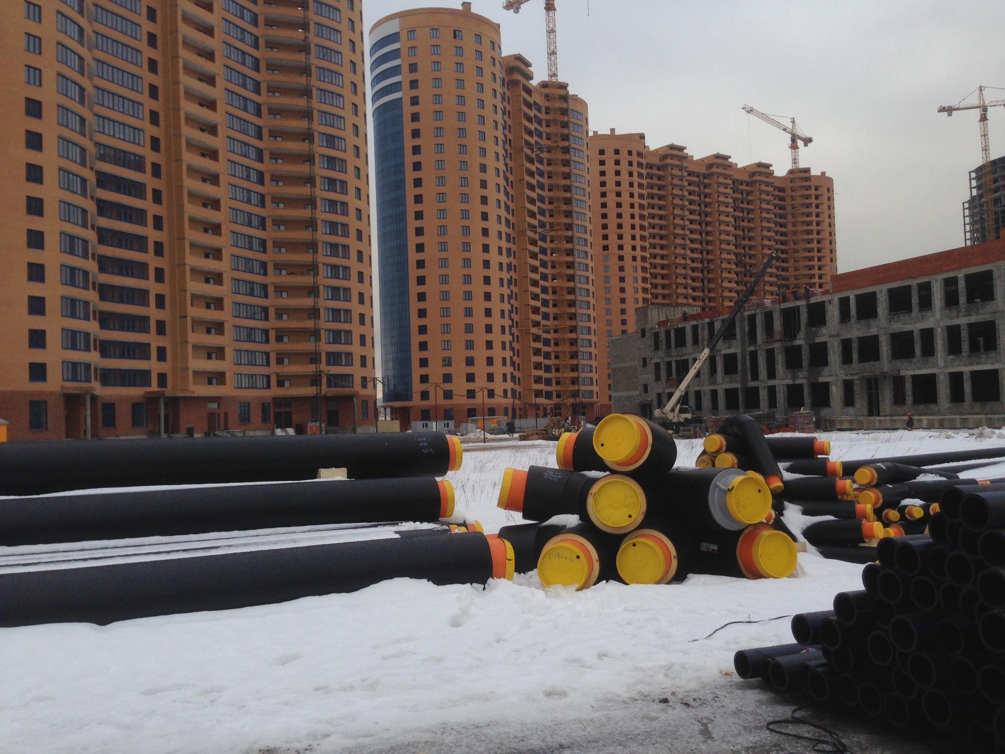 Стальные трубы в ППУ изоляции ПЭ ГОСТ 30732-2006 для Реутова, бесканальная прокладка