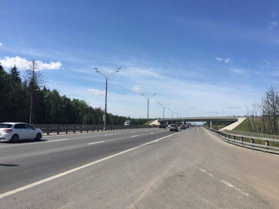 Реконструкция Минского шоссе