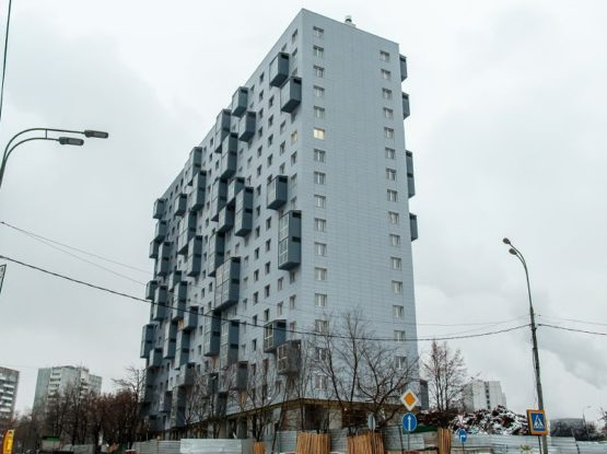 Дом-призер Архсовета Москвы в районе Очаково-Матвеевское