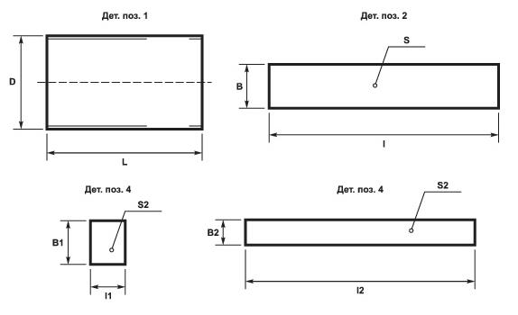 Комплект заделки стыка трубопровода ППУ схема