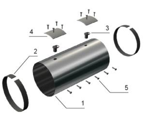КЗС (ц) для трубопроводов ППУ