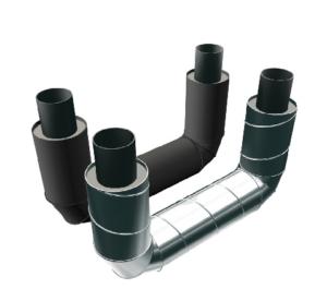 П-образные элементы трубопроводов ППУ