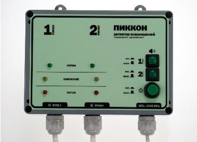«ДПС-2А» стационарный двухканальный детектор повреждений