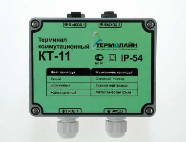 Коммутационные терминалы ОДК для ППУ трубопроводов