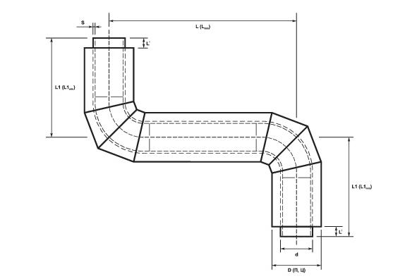 Z-образные элементы ППУ схема