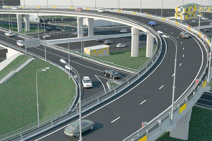 Участие Констрактики в реконструкции дорожной развязки