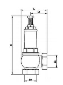 Схема предохранительного клапана Genebre (Женебре)