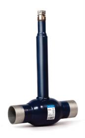 Шаровой кран Ситал для бесканальной прокладки в ППУ-изоляции с изменяемой высотой штока