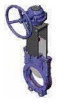 Задвижка шиберная с электроприводом CMO A-01-D/A-E (A-01-D/A-M) / AB-01-D/A-E