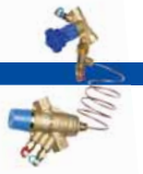 Балансировочные клапаны Гранбаланс от АДЛ КБА латунные