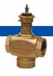 Клапаны регулирующие трехходовые Гранрег (АДЛ) резьбовые