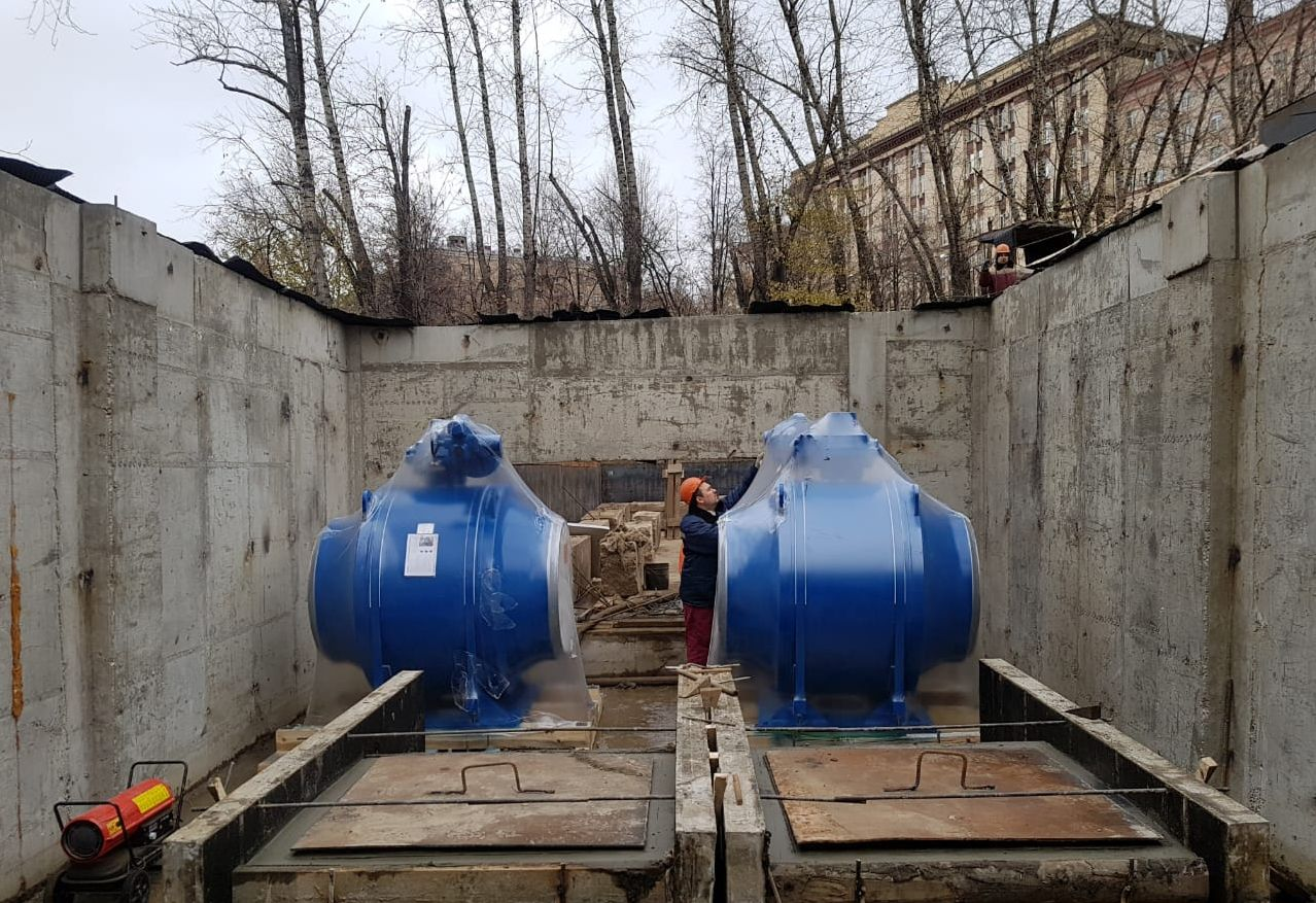 Мосметрострой 2018 запорная арматура для трубопроводов