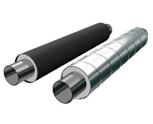 Стальные трубы 720x8 ППУ ПЭ и ППУ-ОЦ