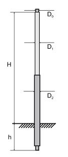 Опоры ОС 2,1 - 9,0