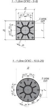 ОГКС закладные детали